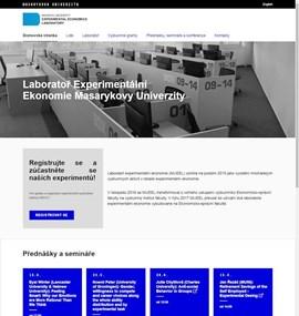 Laboratoř experimentální ekonomie MU