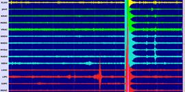 Zemětřesení u Tullnu v Dolním Rakousku 16.4.2019, M 3,0