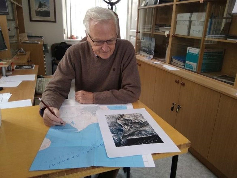 <span>Zakladatel Mendelovy polární stanice na Antarktidě apřední český klimatolog profesor Pavel Prošek.</span>