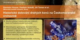 Historické dolování drahých kovů na Českomoravské vrchovině