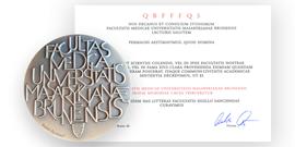 Pozvánka na Slavnostní předávání pamětních medailí