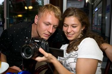 Reportéři Voxpotu vyjíždějí za kauzami nejčastěji ve dvojicích. Foto: archiv Voxpotu