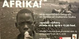 Výstava fotografií ze Zambie