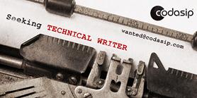 Nabídka práce: Technical Writer