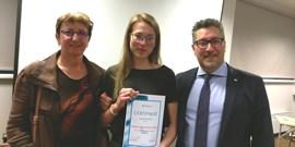 Úspěch studentky Zubního lékařství v 15. ročníku Jules Allemand Trophy