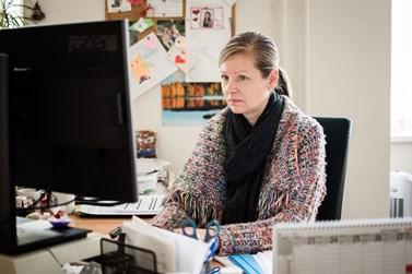 Podle Veroniky Šenkýřové je pro práci referentky potřeba především trpělivost. Foto: Tomáš Hrivňák