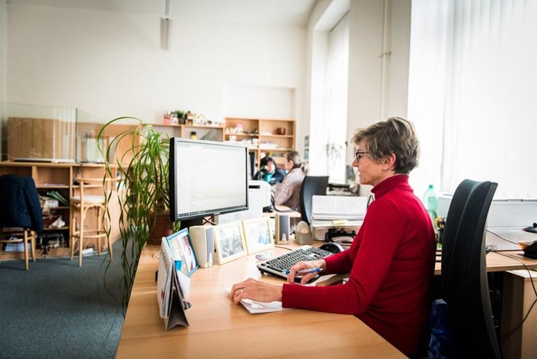 Studenti chodí na studijní oddělení hlavně pro potvrzení o studiu. Foto: Tomáš Hrivňák