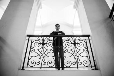 Na fakultě sociálních studií studuje bezpečnostní a strategická studia a politologii. Foto: Tomáš Hrivňák