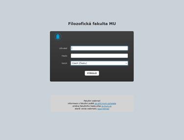 Roundcube - přihlášení do webmailu FF