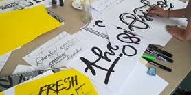 Workshop letteringu