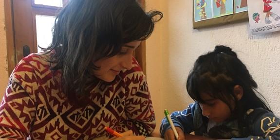 Rok dobrovolnicemi v romské osadě v Bulharsku