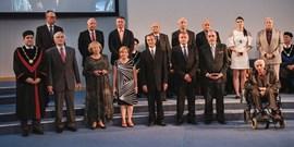 Slavnostní udílení Malých bronzových medailí vybraným absolventům Lékařské fakulty MU