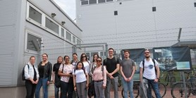 Students visited SIEMENS facilities