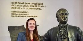 Padrtová v ruském Archangelsku