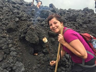 Dana Prudíková na cestách po Guatemale