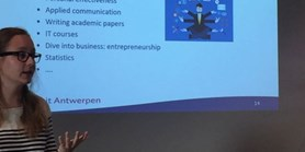 HR AWARD team attended HR Strategy workshop at the Antwerp University
