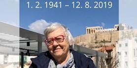 Úmrtí emeritní prof. Evy Stehlíkové