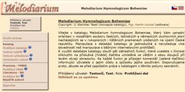 Melodiarium hymnologicum Bohemiae