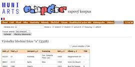 RapCor: rapový korpus