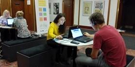 Diagnostický test jazykových dovedností na Mobilitním týdnu CZS