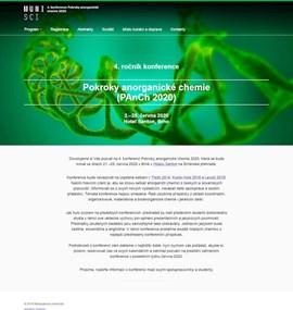 Konference Pokroky anorganické chemie | MUNI SCI