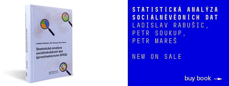 New on sale. Statistická analýza  sociálněvědních dat