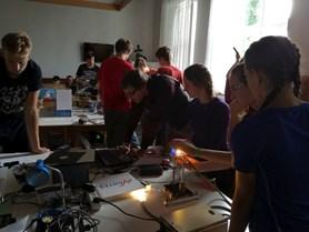 Fyzikální soustředění studentů středních škol Cikháj 2019