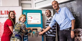 Faculty of Economics and Administration of MU saves nature and reduces plastics thanks to FILTERMAC