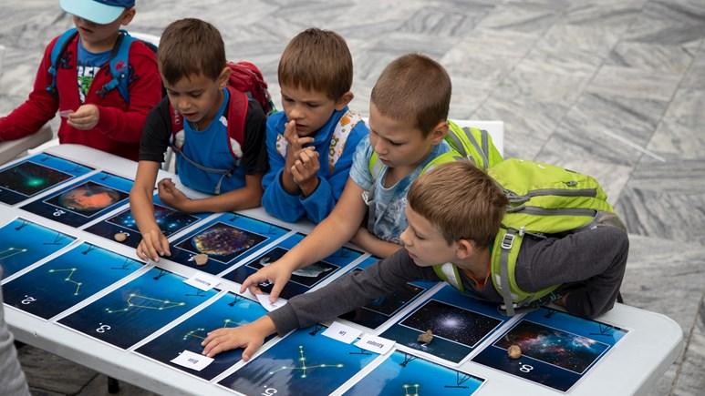 Poznávání souhvězdí a objektů nočního nebe