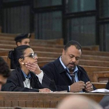 Foto: Mahienour El-Massry a Mohamed Ramadán, Facebook