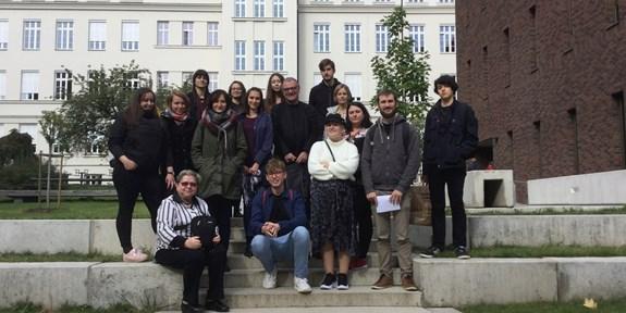 Učitelé a studenti z Univerzity v Agderu na Masarykově univerzitě