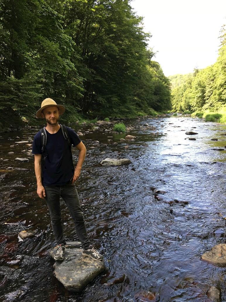 Ludvík Mauer tráví svůj volný čas hlavně v přírodě.  Foto: archiv Ludvíka Mauera