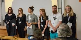 Jan Horský získal druhé místo ve studentské soutěži o nejlepší poster
