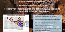 Představení modelu globální tektoniky, založené na transformaci sluneční energie