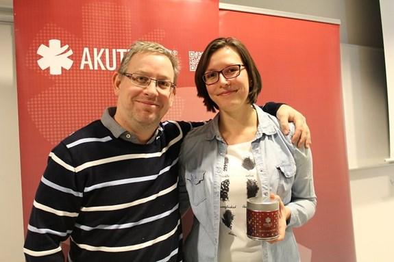 P. Štourač a E. Klabusayová, Zdroj: AKUTNĚ.CZ