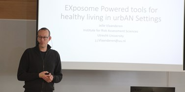 Dr. Jelle Vlaanderen: EXposome Powered tools for healthy living in urbAN Settings