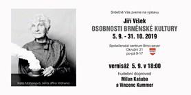 Osobnosti brněnské kultury - výstava fotografií Jiřího Víška