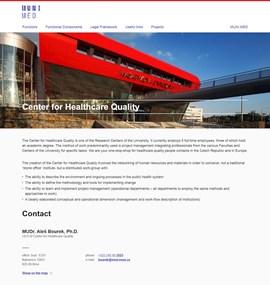MED - Center for Healthcare Quality