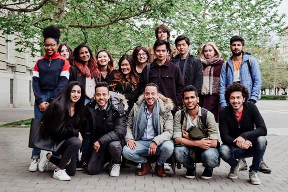 Cohort of BA International Relations and European Politics