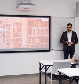 Přednáška Martina Brablece o copywritingu