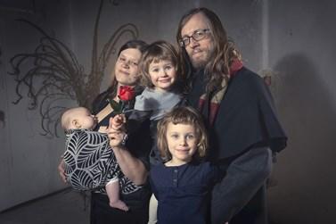 Svůj volný čas tráví Jan Šerek s manželkou a svými třemi dcerami. Foto: archiv Jana Šerka
