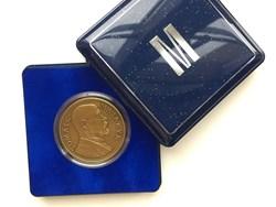 Medaile pamětní MUNI 100/krabička sametová, plastová