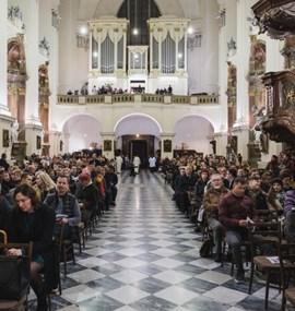 Mše svatá u příležitosti 100 let výuky na Masarykově univerzitě