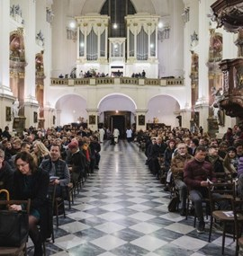 Holy Mass on the occasion of 100 years of teaching at Masaryk University