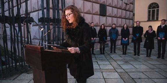 Fotoreport: Univerzita uctila památku obětí nacistického teroru