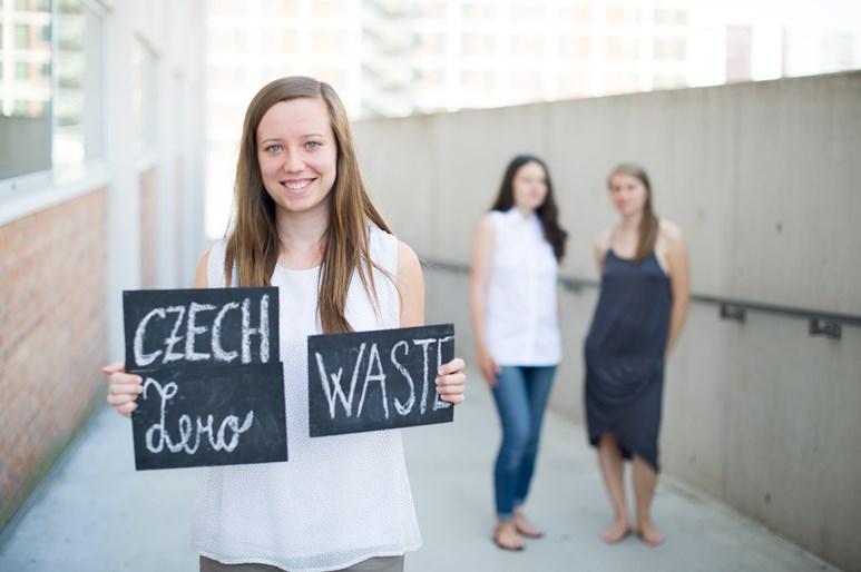 Blog Czech Zero Waste provozují tři kamarádky už čtvrtým rokem. Na Facebooku je od té doby sleduje už téměř 17 tisíc lidí. Foto: archiv Heleny Škrdlíkové