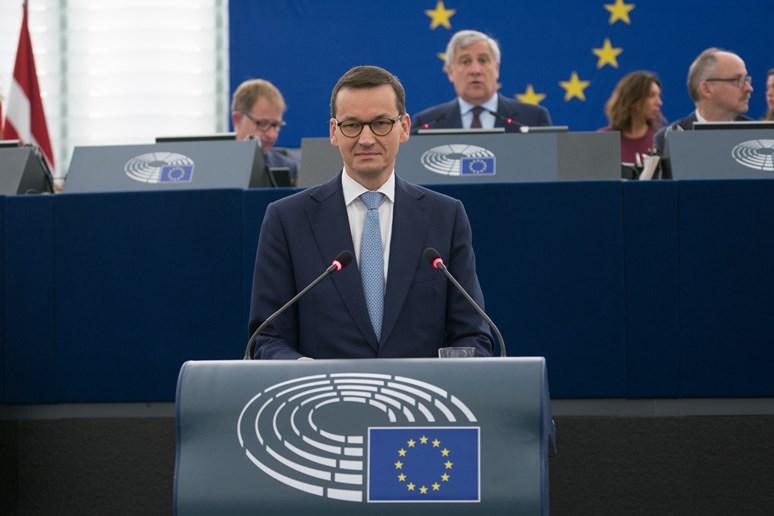 Foto: Polský premiér Mateusz Morawiecki, European Parliament, Flickr, CC BY 2.0