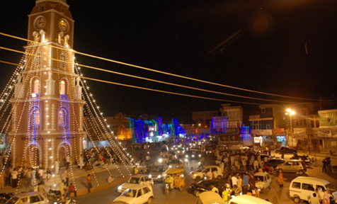 Heart of Sialkot, Pakistan during the Eid Days.