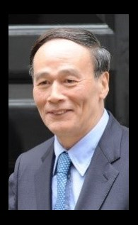 Wang Qishan (王岐山) Zdroj: Wikimedia Commons (https://commons.wikimedia.org/w/index.php?curid=33469765) Autor: Foreign and Commonwealth Office - Number 11 Downing Street Licence: CC BY 2.0