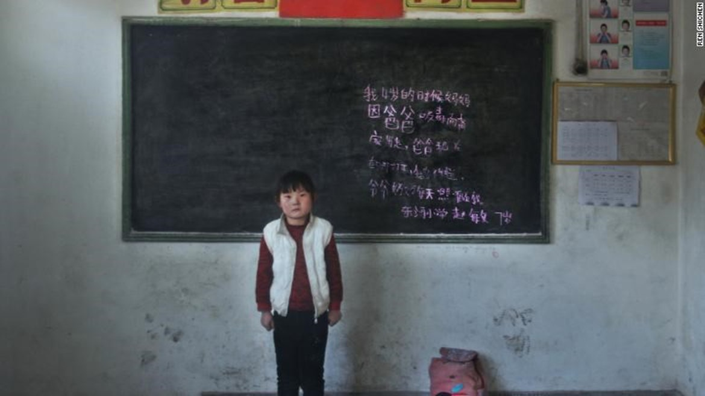 Zdroj: FANG, Nanlin a Katie HUNT. Photographer documents the plight of China's left-behind kids. [online]. CNN, 2018 [cit. 5.12.2019]. Dostupné z: https://edition.cnn.com/2018/02/04/health/china-left-behind-kids-photography-intl/index.html